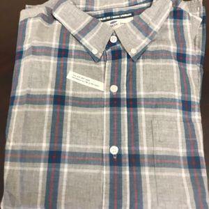 NWT OLD NAVY XXXL🥾  Button down check shirt